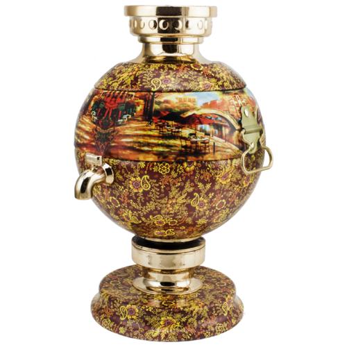 Чай черный Dolche Vita самовар Бордо, подарочный набор, 50 г