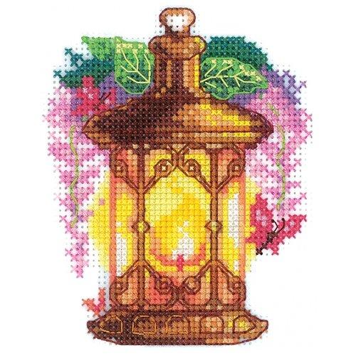 Купить Сделай своими руками Набор для вышивания Огоньки. Глициния 9 x 11 см (О-20), Наборы для вышивания