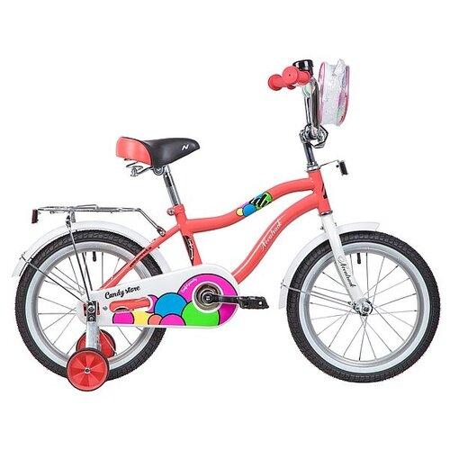Детский велосипед Novatrack Candy 16 (2019) коралловый (требует финальной сборки)Велосипеды<br>