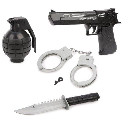 Купить Игровой набор Наша игрушка 646-6, Полицейские и шпионы