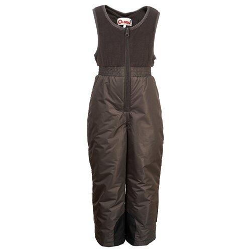Купить Полукомбинезон Oldos Тонни OAW203T1PT20 размер 98, темно-серый, Полукомбинезоны и брюки