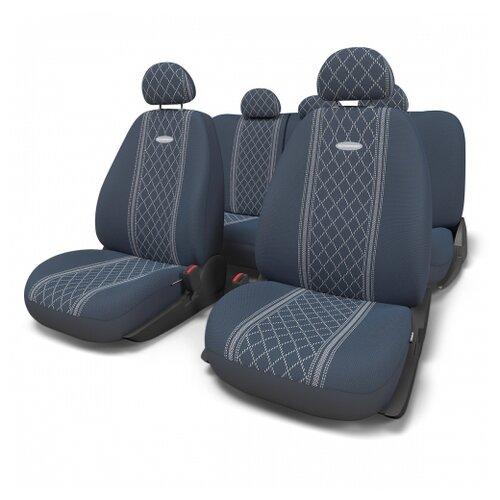 цена на Комплект чехлов AUTOPROFI GOB-1105 синий/в синих ромбах