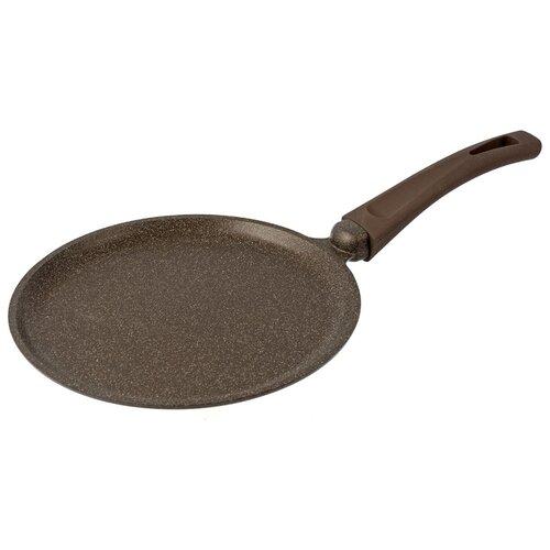 Сковорода блинная TimA Мускат-Индукция 22088I, 22 см, коричневый сковорода tima мускат 28108i 28 см съемная ручка коричневый