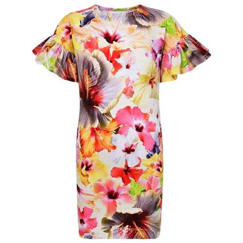Платье Molo Coralie Pacific Floral размер 122-128, 6067 Pacific Floral платье molo размер 134 140 8151 cher