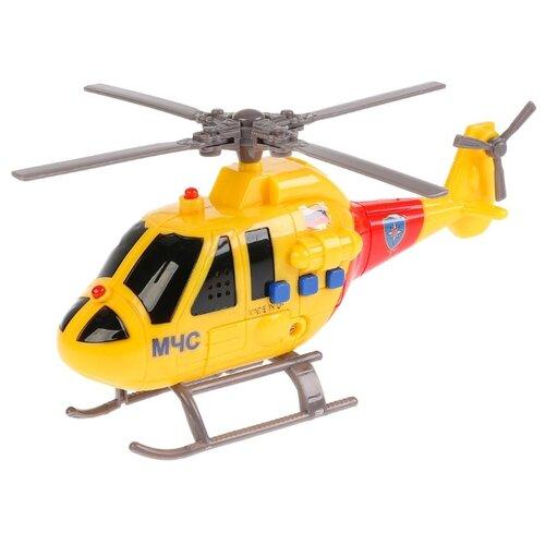Вертолет ТЕХНОПАРК МЧС (C400-R) 19 см желтый