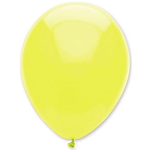 Набор воздушных шаров MILAND Неон 28 см (100 шт.) желтый