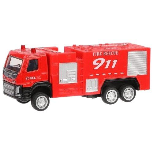 Купить Пожарный автомобиль Пламенный мотор 870410 1:72 12 см красный, Машинки и техника