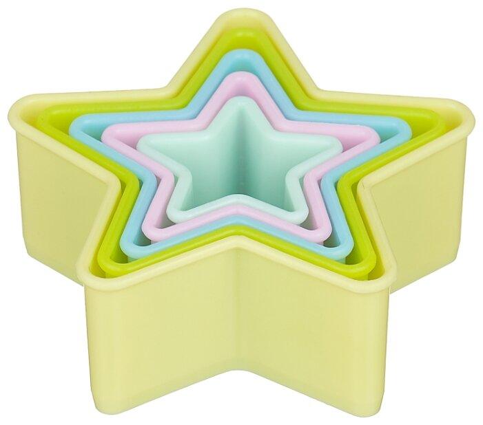 Форма для печенья Attribute Pastel ABP205, 5 шт.