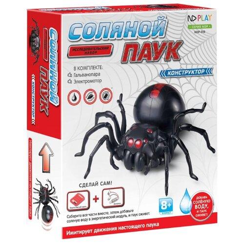 Купить Электромеханический конструктор ND Play На энергии соленой воды 271123 Соляной паук, Конструкторы