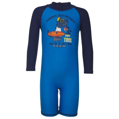 Комбинезон Oldos размер 86, голубой/темно-синий футболка для плавания oldos размер 116 темно синий голубой