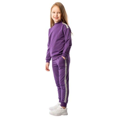 Свитшот bodo размер 92-98, фиолетовый
