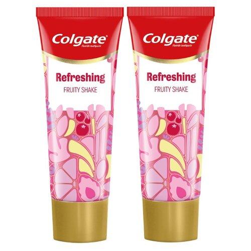 Купить Зубная паста Colgate Фруктовый шейк освежающая, 75 мл, 2 шт.