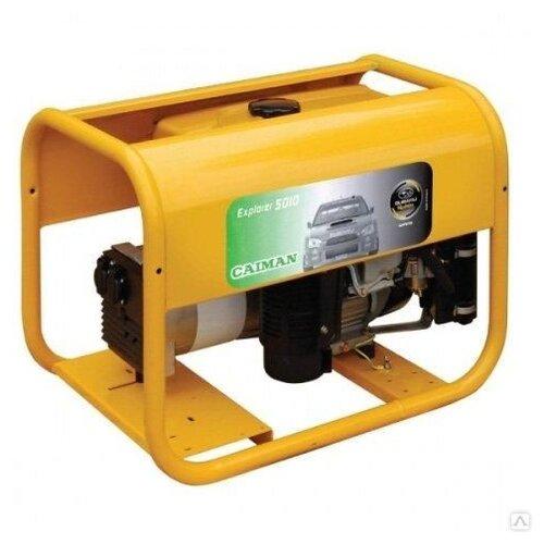 Фото - Бензиновый генератор Caiman Explorer 5010XL12 (4300 Вт) привод бензиновый caiman csvh e для виброрейки поставляется без рейки арт csvh e