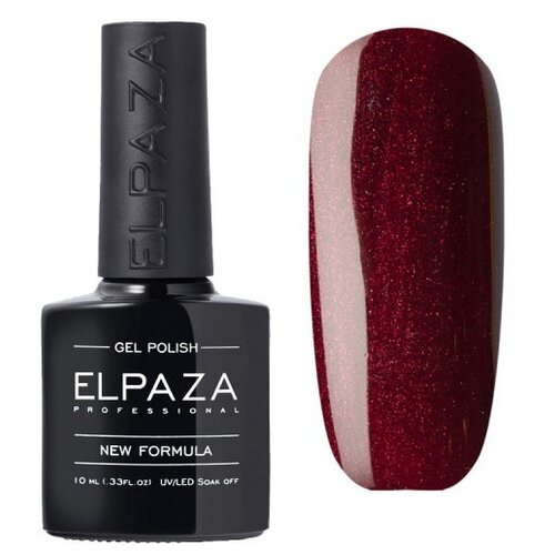 Купить Гель-лак для ногтей ELPAZA Classic, 10 мл, 075 Спелая вишня
