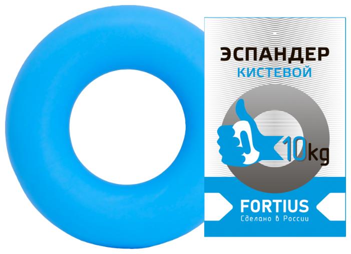 """Купить Эспандер кистевой """"Fortius"""" жесткость 10 кг (голубой) по низкой цене с доставкой из Яндекс.Маркета"""