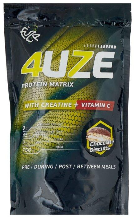 Купить Протеин Fuze Protein Matrix Creatine + Vitamin C (750 г) шоколадное печенье по низкой цене с доставкой из Яндекс.Маркета