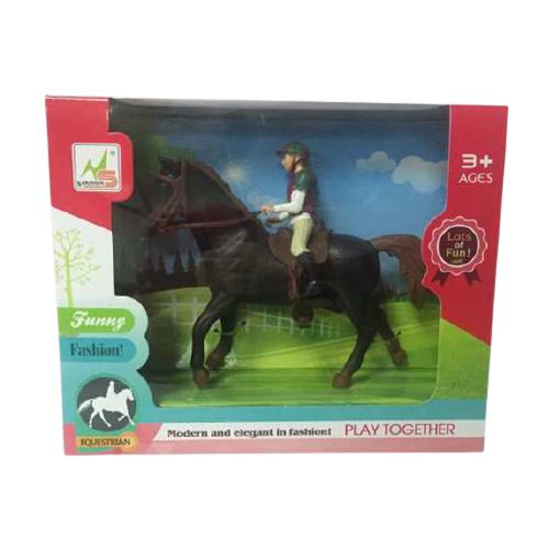 Купить Фигурки Nanshun Лошадка (черная) WA-D7912, Игровые наборы и фигурки