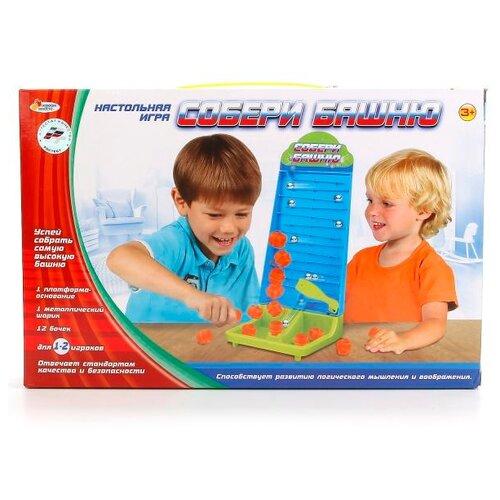 Фото - Настольная игра Играем вместе Собери башню настольная игра играем вместе лягушки