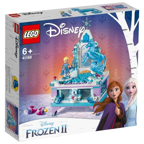 Конструктор LEGO Disney Princess 41168 Frozen II Шкатулка Эльзы конструктор lego disney princess frozen ii деревня в эренделле 521 дет 41167