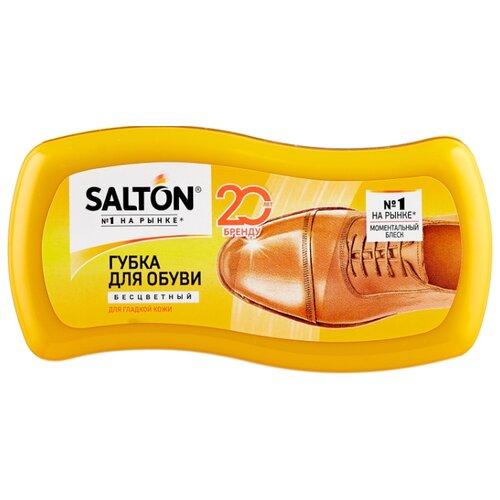 Фото - SALTON Губка-волна для гладкой кожи бесцветная губка для обуви salton волна черная для гладкой кожи с норковым маслом