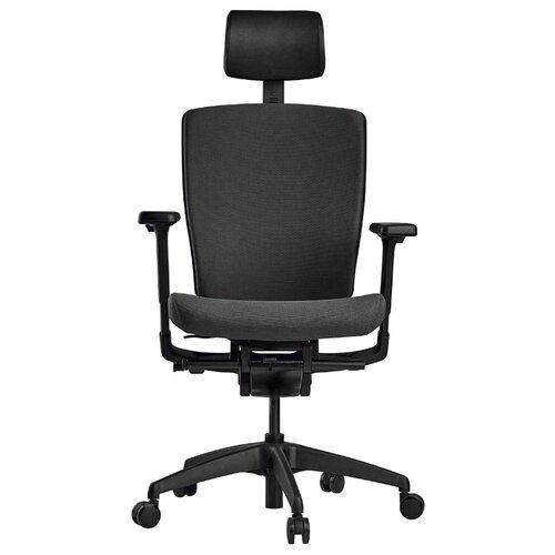 Эргономичное компьютерное кресло Schairs AEON-P01B GREY