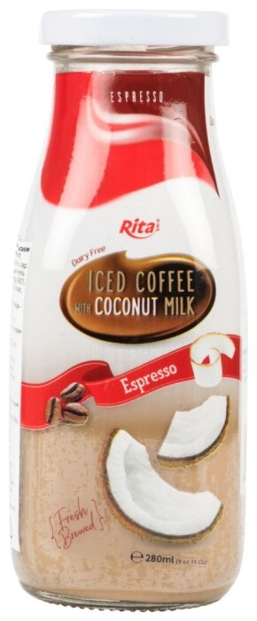 Кофейный напиток Rita Эспрессо с кокосовым молоком 0.28 л