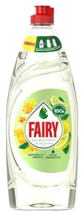 Fairy Средство для мытья посуды Pure & clean Бергамот и имбирь