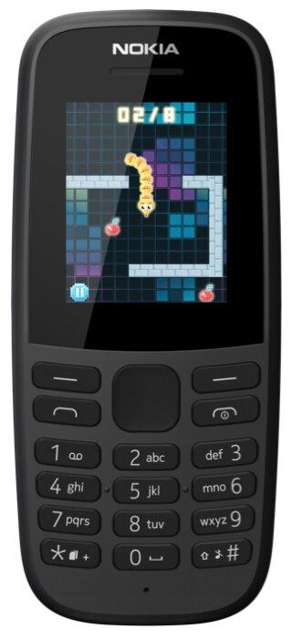 Телефон Nokia 105 SS (2019) фото 1