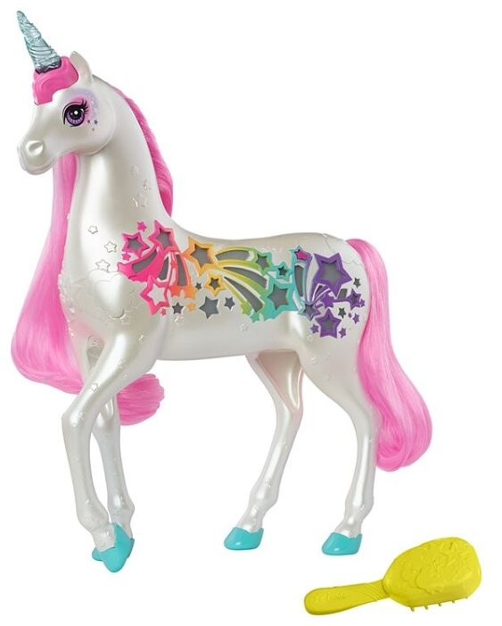 Barbie сверкающий единорог с волшебными волосами (GFH60)