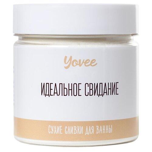 Yovee by Toyfa Сухие сливки для ванны Шоколадная ванна с ароматом белого шоколада, 100 г yovee by toyfa соль для ванны когда хочется релакса с ароматом лаванды и сандала 100 г