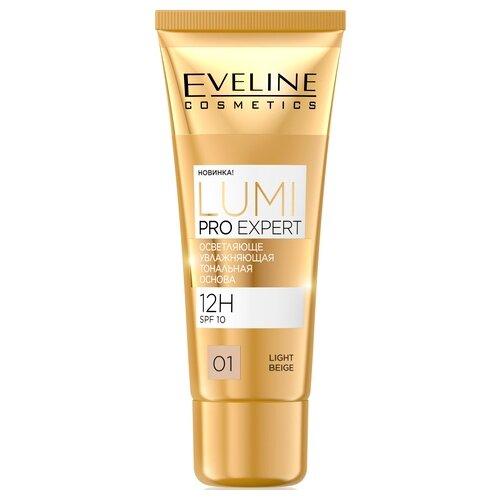 Eveline Cosmetics Тональный крем Lumi Pro Expert, 30 мл, оттенок: 01 light beige