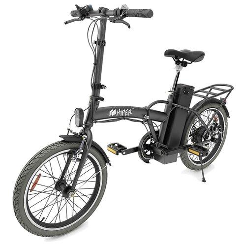 Электровелосипед HIPER Engine BF200 черный (требует финальной сборки)
