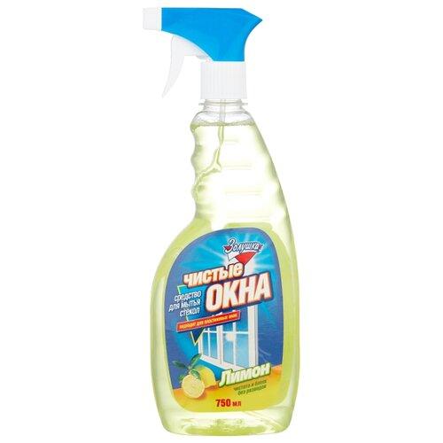 Спрей Золушка Чистые окна Лимон для мытья стекол, 750 мл недорого