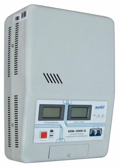 Стабилизатор напряжения однофазный RUCELF SDW-3000-D
