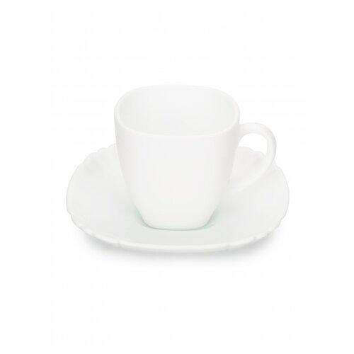 Фото - Чайный набор КАРЛОТ 12 предметов 220мл белый чайный набор luminarc брашмания оранж 12 предметов 220мл p8984