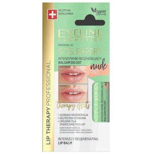 Купить Eveline Cosmetics Бальзам для губ SOS expert Intensely regenerating