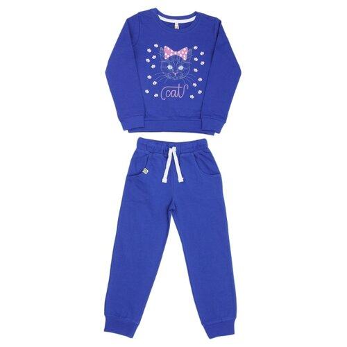 Купить Спортивный костюм MisterBanana размер 98-104, синий, Спортивные костюмы
