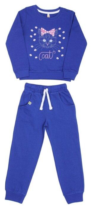 Спортивный костюм MisterBanana размер 98-104, синий