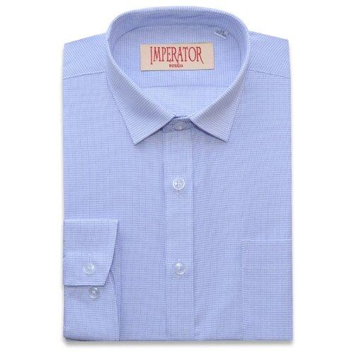 Рубашка Imperator размер 28/104-110, голубой рубашка tom tailor размер 104 110 голубой