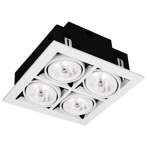 Встраиваемый светильник Arte Lamp Cardani A5930PL-4WH встраиваемый светильник artelamp a5930pl 3bk