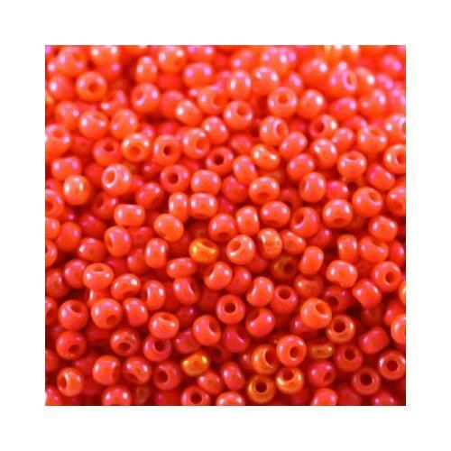 Купить Бисер Preciosa , 10/0, 50 грамм, цвет: 94140 оранжевый, Фурнитура для украшений