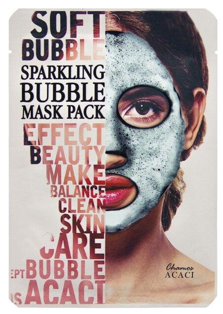 Acaci Soft Bubble Sparkling Mask Pack Очищающая кислородная маска