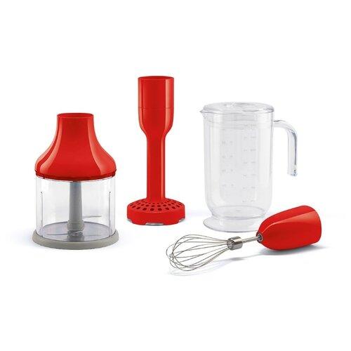 Smeg насадка, измельчитель, венчик, чаша для блендера HBAC01RD красный