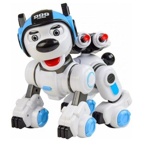 Купить Робот Crazon Police Dog 200440125 белый/голубой, Роботы и трансформеры
