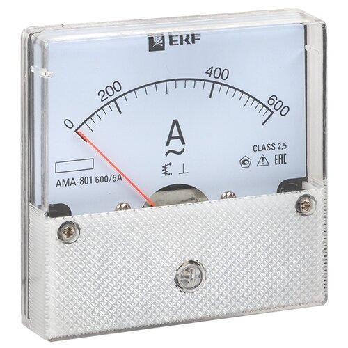 Амперметр для установки в щит EKF AMA-801-600