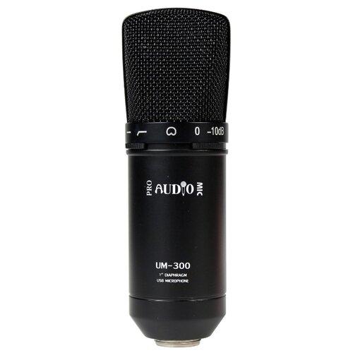 Микрофон Pro Audio UM-300, черный