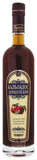Кальвадос Дербентский Calvados 0,5 л по выгодной цене на Яндекс.Маркете