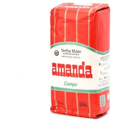 Чай травяной Amanda Yerba mate Campo , 500 г чай травяной amanda yerba mate naranja 500 г
