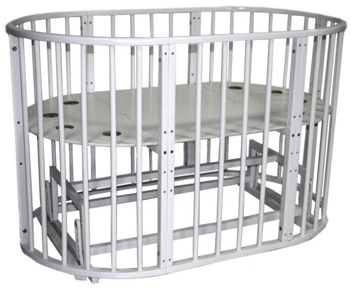 Кроватка Уренский леспромхоз Лёвушка (с маятником), универсальный маятник