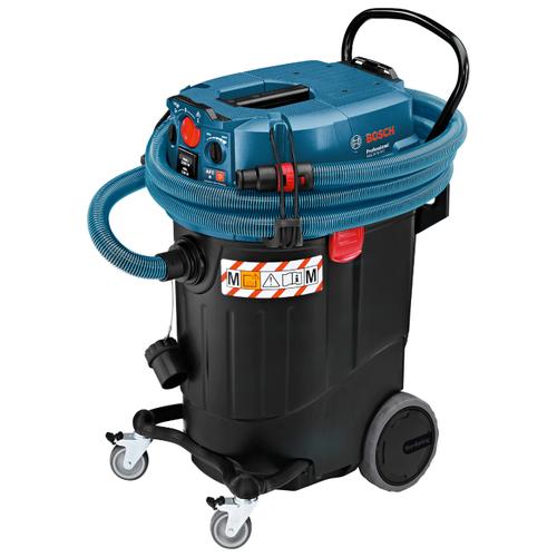 Профессиональный пылесос BOSCH GAS 55 M AFC 1380 Вт синий/черный